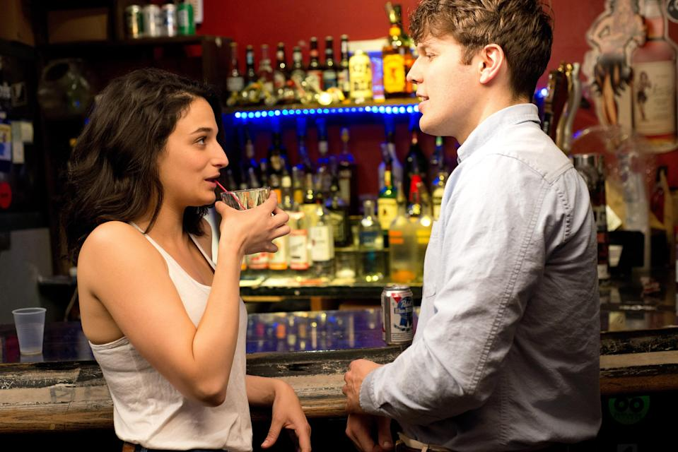 "<p>Jenny Slate absolutely shines in this romantic comedy about a struggling comedian who breaks up with her boyfriend, has a one-night stand (with the very cute Jake Lacy), and discovers soon after that she's pregnant. She has an abortion that's presented without sensationalism or judgment—and many praise the film for it.</p> <p><a href=""https://www.netflix.com/title/70301275"" rel=""nofollow noopener"" target=""_blank"" data-ylk=""slk:Available to stream on Netflix."" class=""link rapid-noclick-resp""><em>Available to stream on Netflix.</em></a></p>"