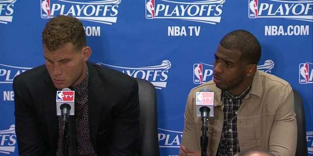 Clippers' Blake Griffin spends more time watching than playing during loss to Warriors