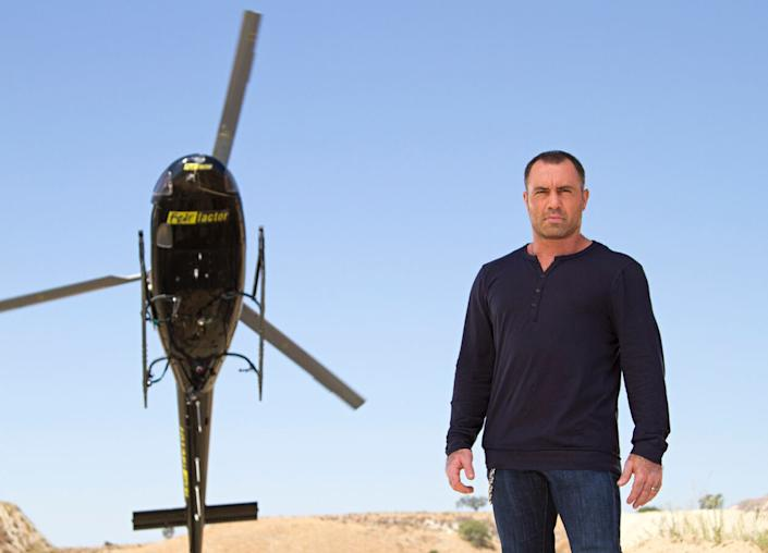 Joe Rogan hosted 'Fear Factor' from 2001-2006 and 2011-2012 (Photo: NBC)