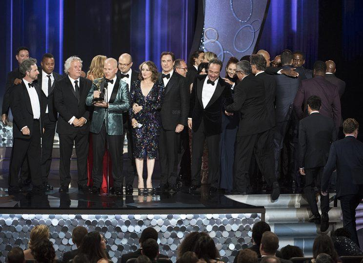 The People v. O.J. Simpson: American Crime Story wins Outstanding Limited Series at the 68th Emmy Awards. (Credit: ABC)