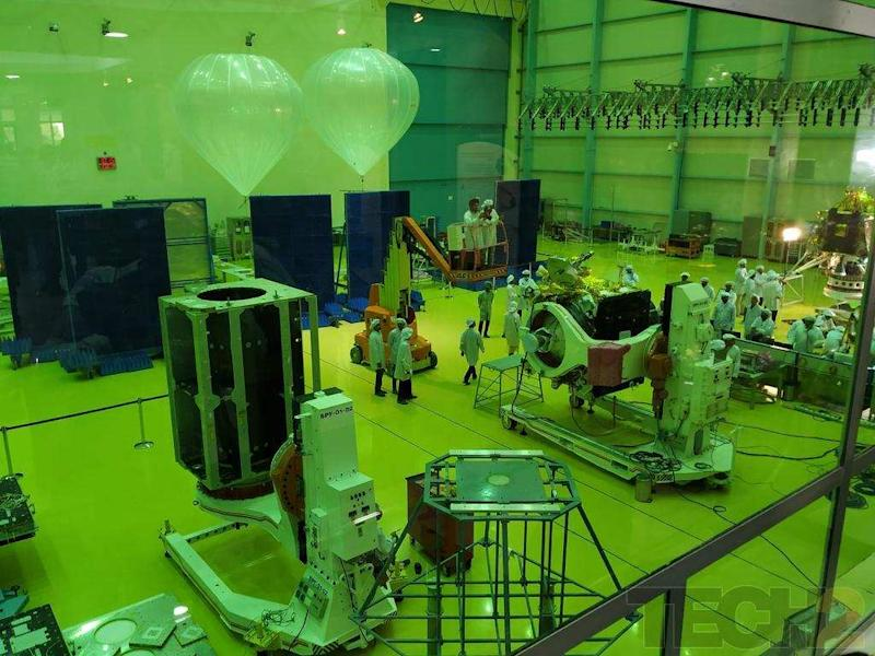 A look at a few of the modules of the Chandrayaan2 spacecraft. Image credit: Tech2