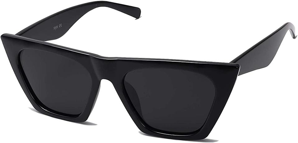 <p>The <span>Sojos Retro Square Cateye Polarized Women Sunglasses</span> ($12) are a must have for spring/summer. They go with everything and look absolutely fierce.</p>