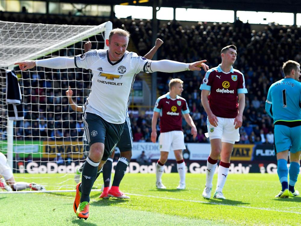 Rooney scored his first goal since January (Getty)