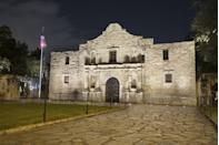 """<p>Get a chance to see Spanish Governor's Palace, Menger Bar, and the Alamo at night during this 90-minute lantern-guided tour, which is the perfect balance of freaky and family-friendly. </p><p><a class=""""link rapid-noclick-resp"""" href=""""https://go.redirectingat.com?id=74968X1596630&url=https%3A%2F%2Fwww.tripadvisor.com%2FAttractionProductReview-g60956-d11456681-San_Antonio_Haunted_History_Ghost_Tour-San_Antonio_Texas.html&sref=https%3A%2F%2Fwww.redbookmag.com%2Flife%2Fg37623207%2Fghost-tours-near-me%2F"""" rel=""""nofollow noopener"""" target=""""_blank"""" data-ylk=""""slk:LEARN MORE"""">LEARN MORE</a></p>"""