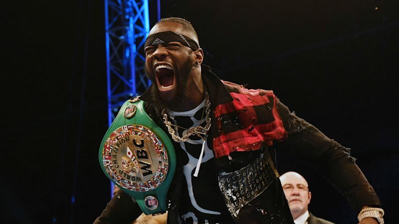 Joshua is 'begging' for unification fight, claims Wilder