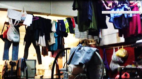 Living conditions of some foreign workers in Singapore. (Photo courtesy of Andrew Loh)