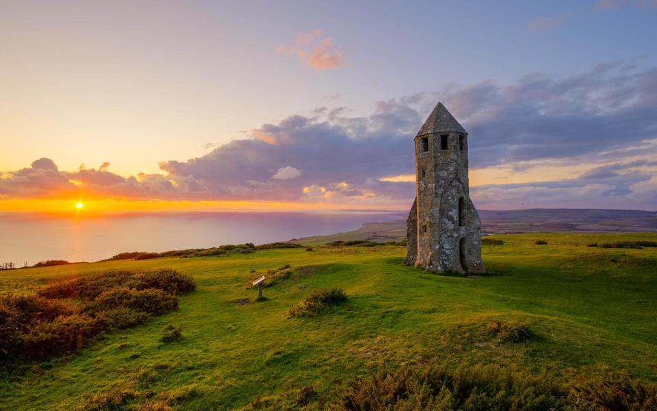 David Oxtaby was shortlisted for his shot of St Catherine's Oratory on the Isle of Wight - David Oxtaby