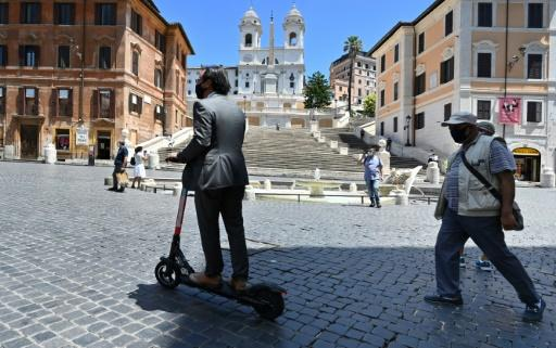 Rome's mayor calls the scooters a small revolution for the city