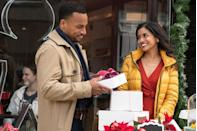 <p><strong>Saturday, November 14 at 8 p.m.</strong></p><p>When her uncle breaks his ankle, Ashley (played by <strong>Tiya Sircar</strong>) returns home to care for him. While there, she learns he's sold her mom's beloved red convertible and finds a way to get it back. Along her journey, she revisits past holiday memories and realizes where her heart belongs.</p>