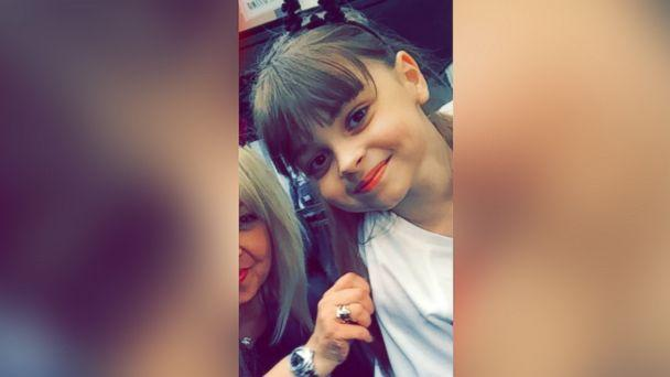 PHOTO: An undated photo of 8-year-old Saffie Roussos; she died in the Manchester, England, attack on May 22, 2017. (SWNS.com)