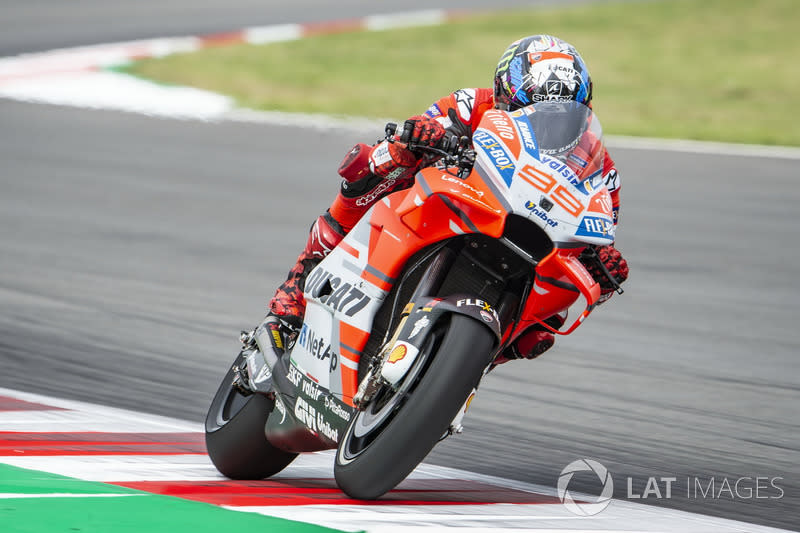 "2018: Jorge Lorenzo (Ducati) mit 1:38,680 Minuten<span class=""copyright"">Gold and Goose / Motorsport Images</span>"