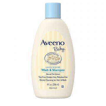 Best Baby Shampoo in Singapore - Aveeno Baby Wash & Shampoo
