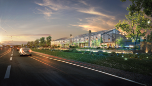 American Place, a new gaming and entertainment destination proposed by Full House Resorts for Terre Haute, Indiana