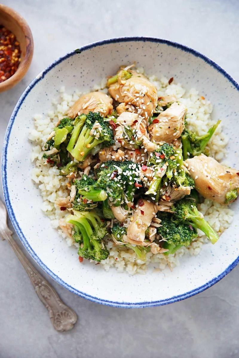 "<strong>Get the <a href=""https://lexiscleankitchen.com/chicken-and-broccoli/"" target=""_blank"" rel=""noopener noreferrer"">Paleo Chicken and Broccoli</a> recipe from Lexi's Clean Kitchen.</strong>"