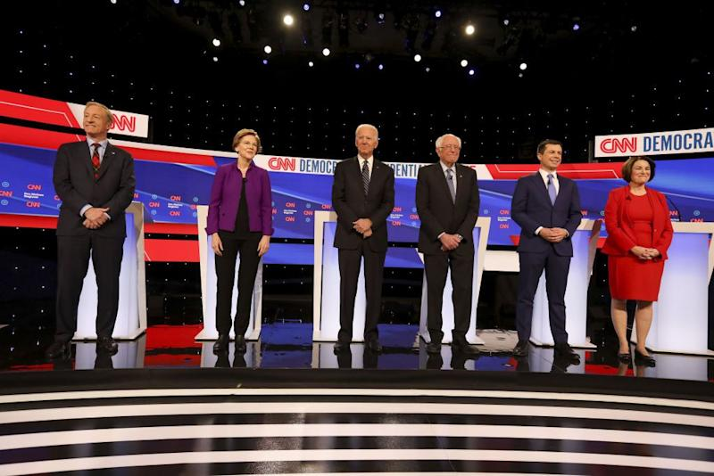 There's Light But No Heat at Latest Democratic Debate