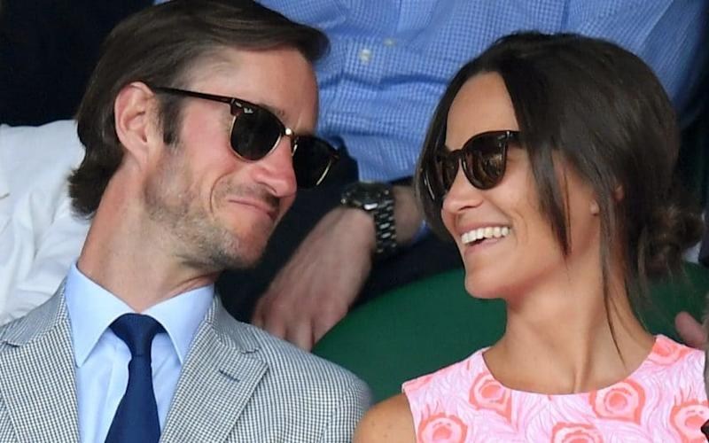 Pippa Middleton and James Matthews, who will marry on May 20
