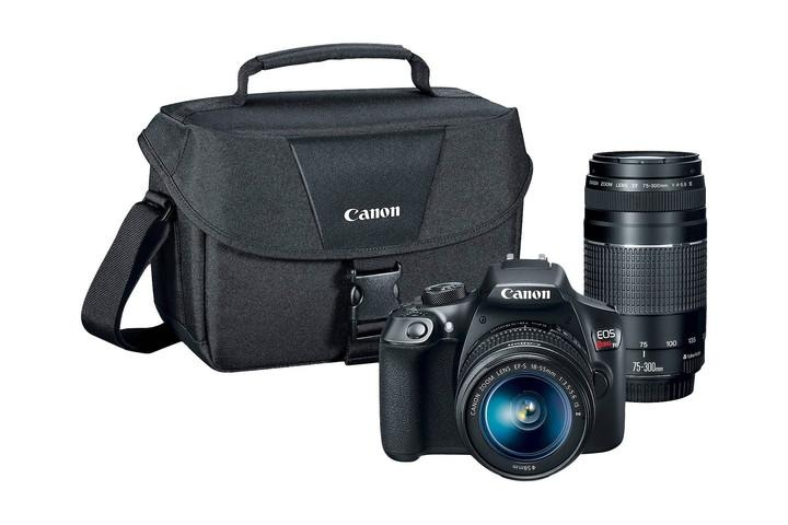 CANON DSLR EOS T6 2LENS KIT BUNDLE
