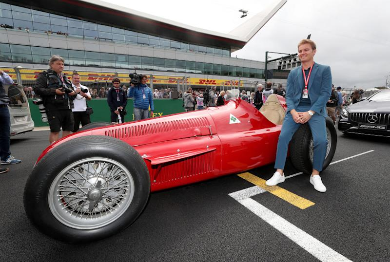 Nico Rosberg a Silverstone (Photo by David Davies/PA Images via Getty Images)