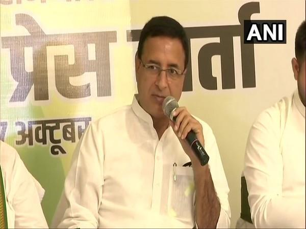 Congress General Secretary Randeep Singh Surjewala. (File Photo)