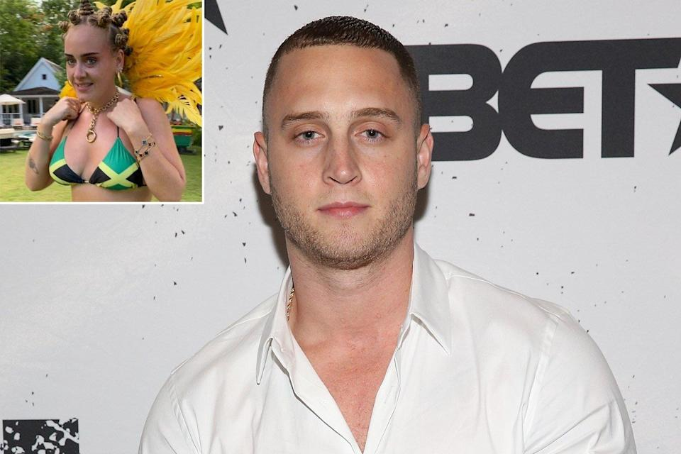 Chet Hanks Asks Adele To Call Him After Her Controversial Carnival Photo Hit My Line Asap