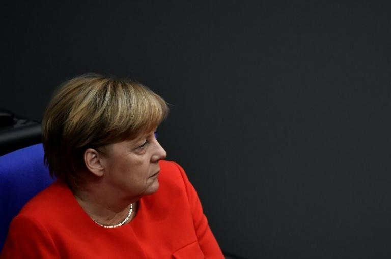 Chancellor Angela Merkel says Germany will support an effort to hold talks with North Korea along the lines of the deal done with IranMore