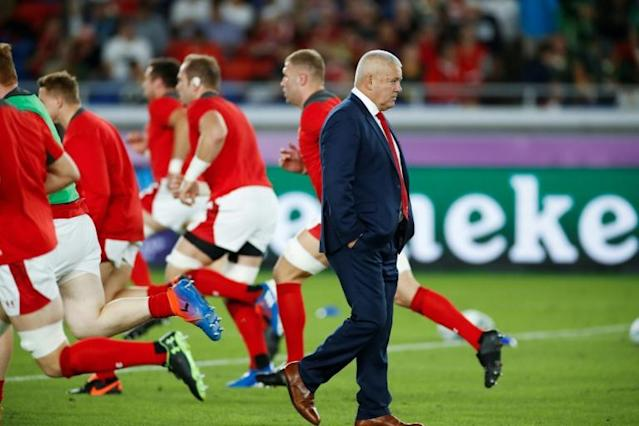 Former Wales coach Warren Gatland has declined an invitation to apply for the All Blacks job (AFP Photo/Odd Andersen)