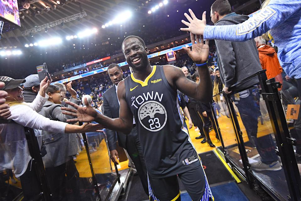Warriors star Draymond Green is changing his representation. (Getty)