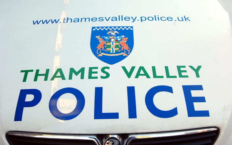 Thames Valley police car  - www.alamy.com