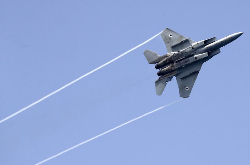 Syria says it downed missiles fired from an Israeli jet targeting a site south of Damascus (AFP Photo/JACK GUEZ)