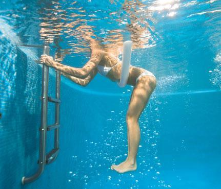 Build Stronger Abs In The Water