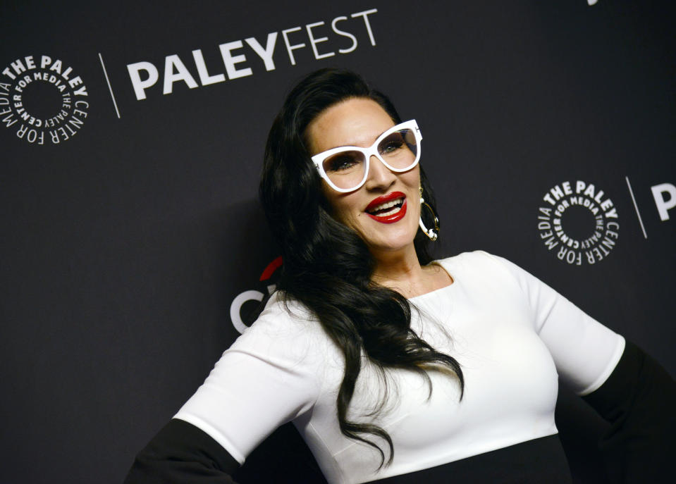 """HOLLYWOOD, CALIFORNIA - MARCH 17:  Michelle Visage attends the Paley Center for Media's 2019 PaleyFest LA """"RuPaul's Drag Race"""" at Dolby Theatre on March 17, 2019 in Hollywood, California. (Photo by Chelsea Guglielmino/WireImage)"""
