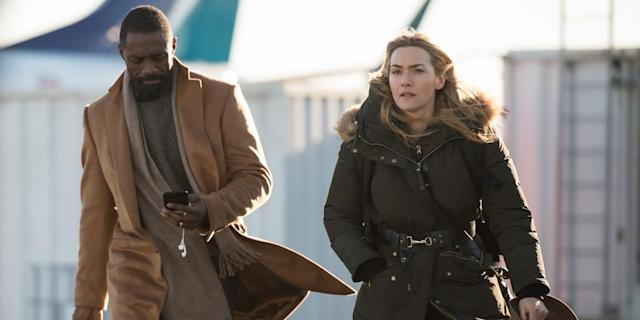 Elba and Kate Winslet in <em>The Mountain Between Us</em> (Photo: TIFF)