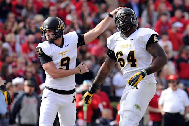 Appalachian State will have new uniforms in first year at FBS level (Photo)