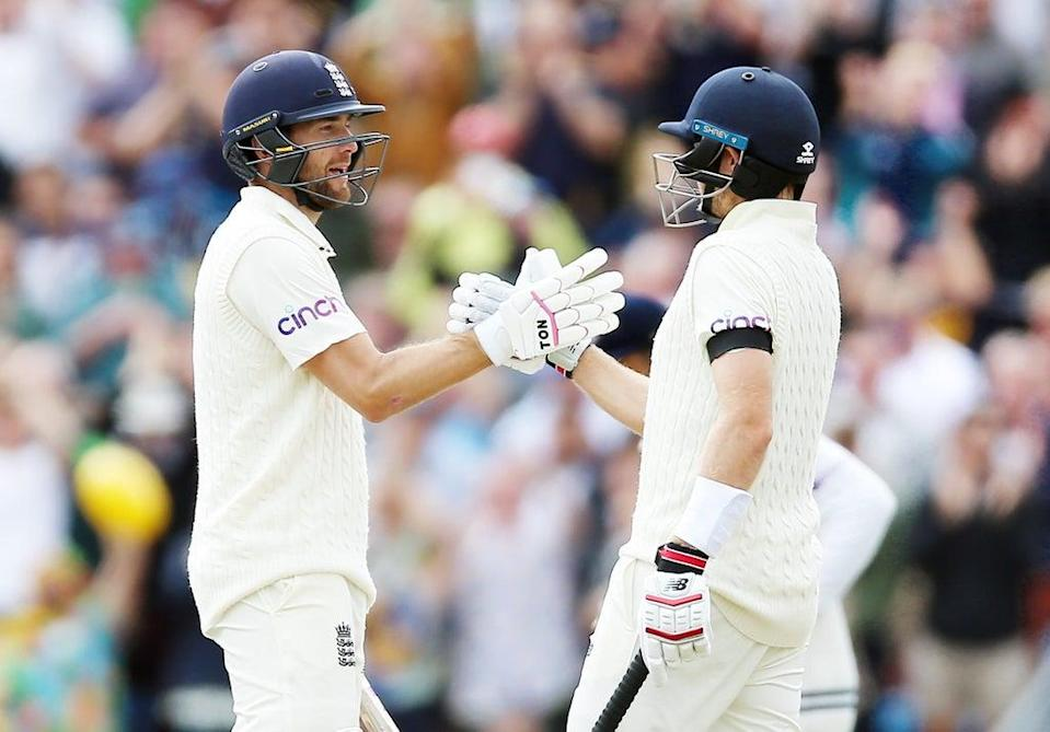 Dawid Malan and Joe Root starred for England (Nigel French/PA) (PA Wire)