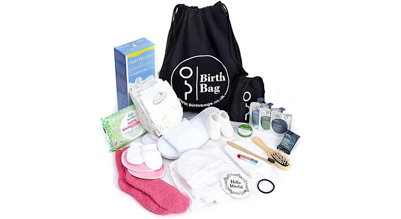 Birth Bag Pre Packed Maternity Hospital Changing Bag Essentials