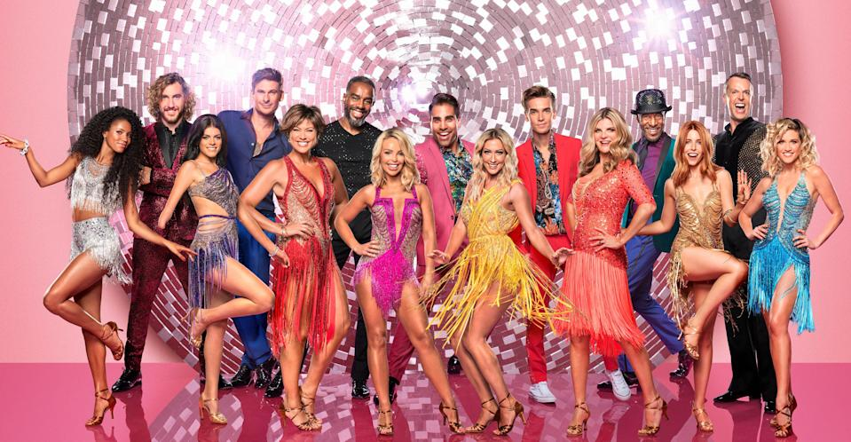 The 2018 Strictly contestants (Credit: BBC Pictures)