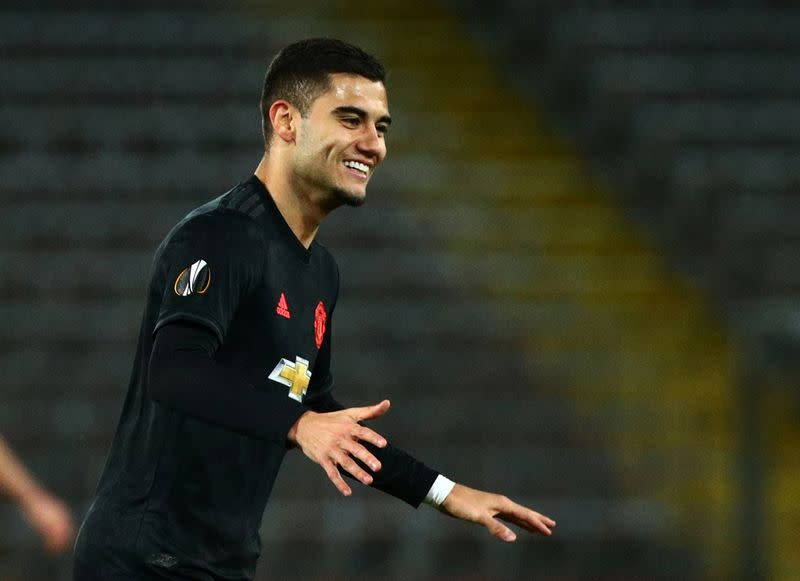 Man United's Pereira joins Lazio on season-long loan