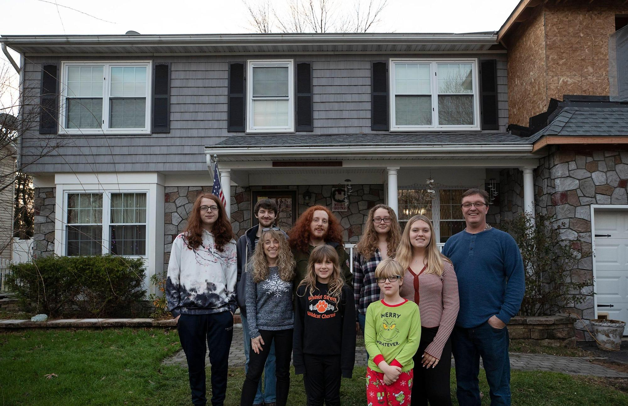 New Jersey Family Adopts Six Orphaned Siblings