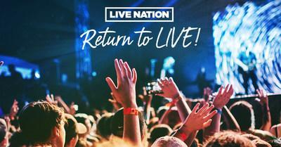 Live Nation Celebrates Return To Live Concerts By Offering Fans $20 All-In Tickets. $20 Tickets Available To General Public Starting Next Wednesday, July 28th At 12pm Et/9am Pt At LiveNation.com.