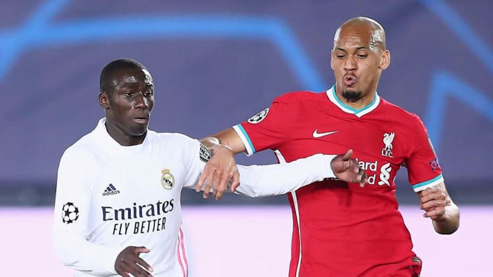 Ferland Mendy e Fabinho | Fran Santiago/Getty Images