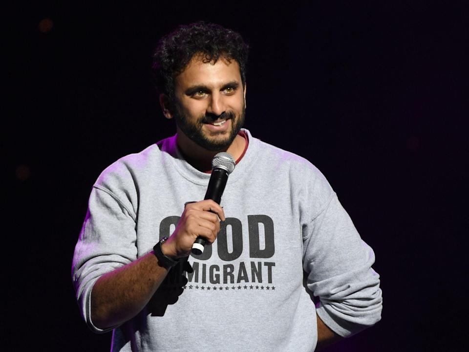 Nish Kumar will be performing in Bristol's Comedy Garden, 2-6 JuneGetty