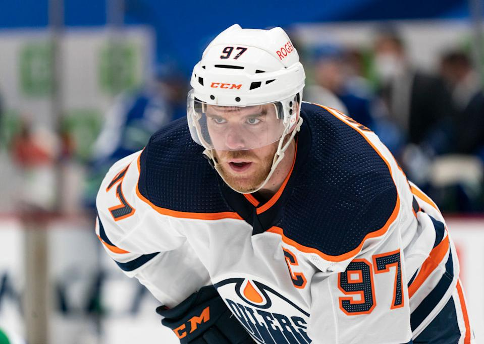 It seems absolutely outrageous, but it's very possible we've yet to see the best version Connor McDavid. (Getty)