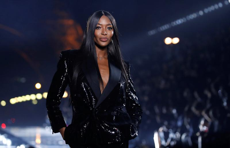 Naomi Campbell at Paris Fashion Week in Paris, France, Sept. 24, 2019. (Photo: REUTERS/Gonzalo Fuentes)