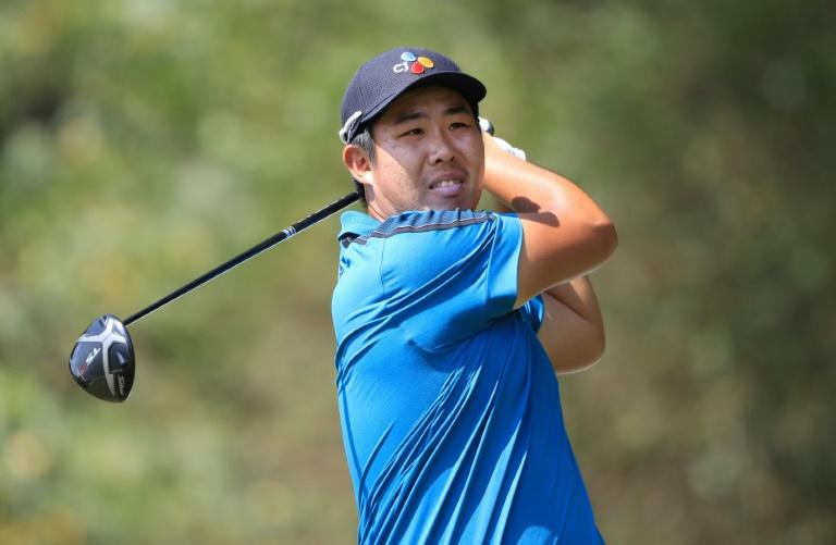 South Korea's An Byeong-hun owned a two-stroke lead after Saturday's conclusion of the second round of the US PGA Sanderson Farms Championship