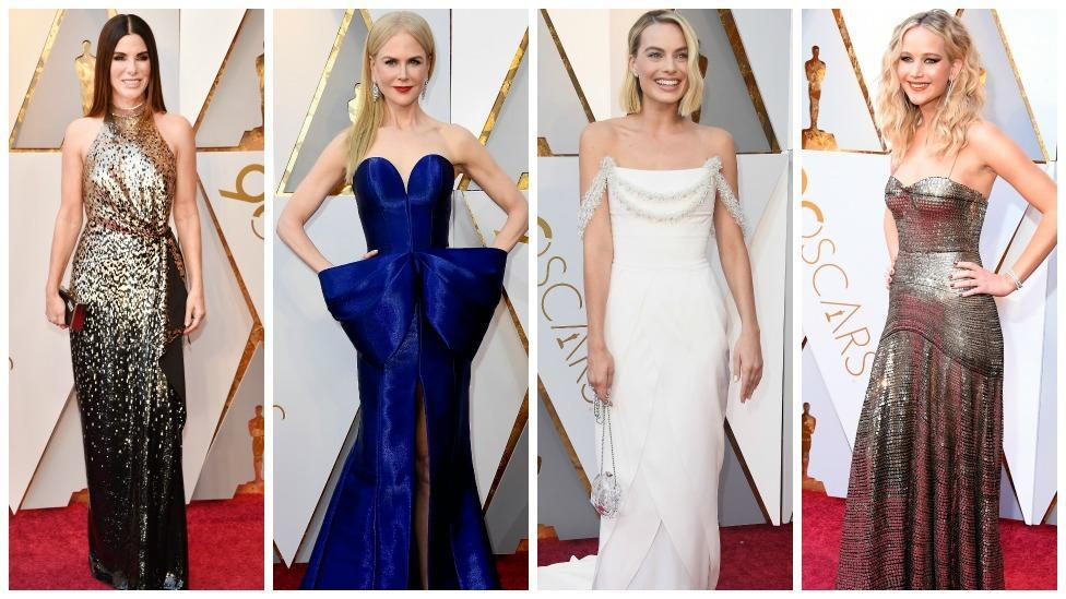 <p>Top 12 Oscars 2018 gowns</p>