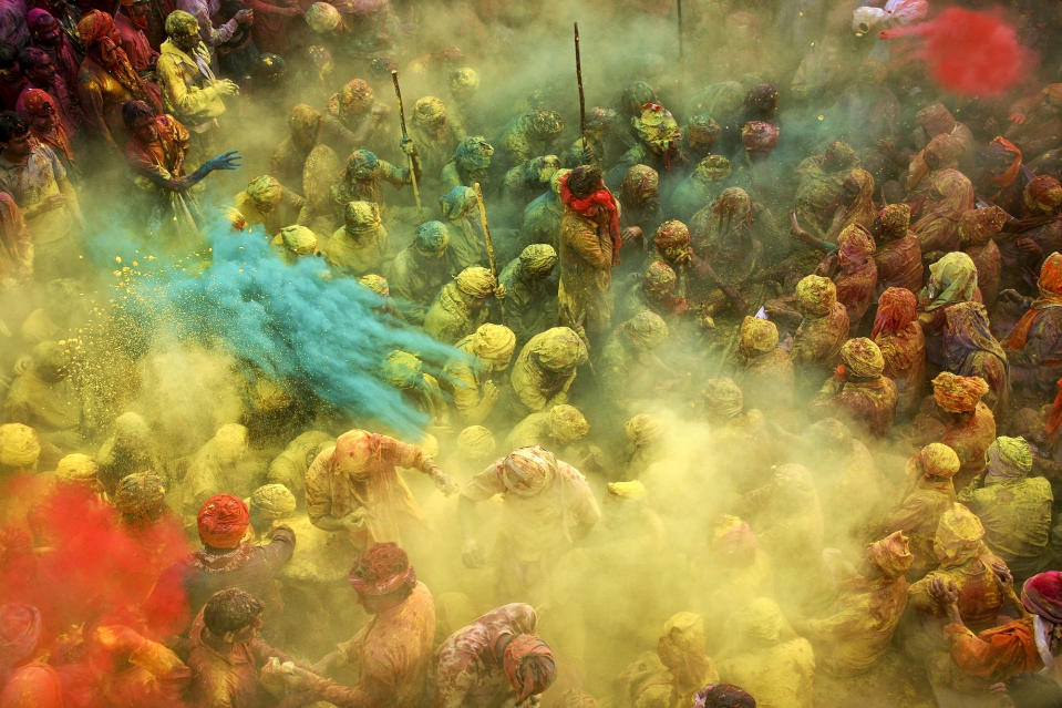 """Holi - the festival of colors - is undoubtedly the most fun-filled and boisterous of Hindu festivals. It's an occasion that brings in unadulterated joy and mirth, fun and play, music and dance, and, of course, lots of bright colors! (Anurag Kumar, India, Arts and Culture, Shortlist, Arts and Culture, Open Competition 2013 Sony World Photography Awards) <br> <br> <a href=""""http://worldphoto.org/about-the-sony-world-photography-awards/"""" rel=""""nofollow noopener"""" target=""""_blank"""" data-ylk=""""slk:Click here to see the full shortlist at World Photography Organisation"""" class=""""link rapid-noclick-resp"""">Click here to see the full shortlist at World Photography Organisation</a>"""