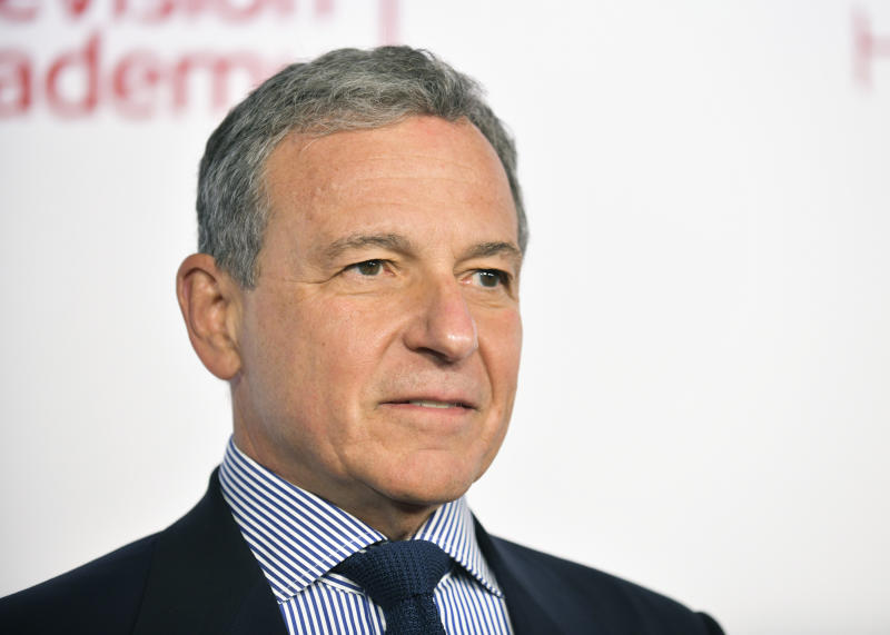 NORTH HOLLYWOOD, CALIFORNIA - JANUARY 28: Chairman and Chief Executive Officer of The Walt Disney Company Robert Iger attends the Television Academy's 25th Hall Of Fame Induction Ceremony at Saban Media Center on January 28, 2020 in North Hollywood, California. (Photo by Rodin Eckenroth/FilmMagic)