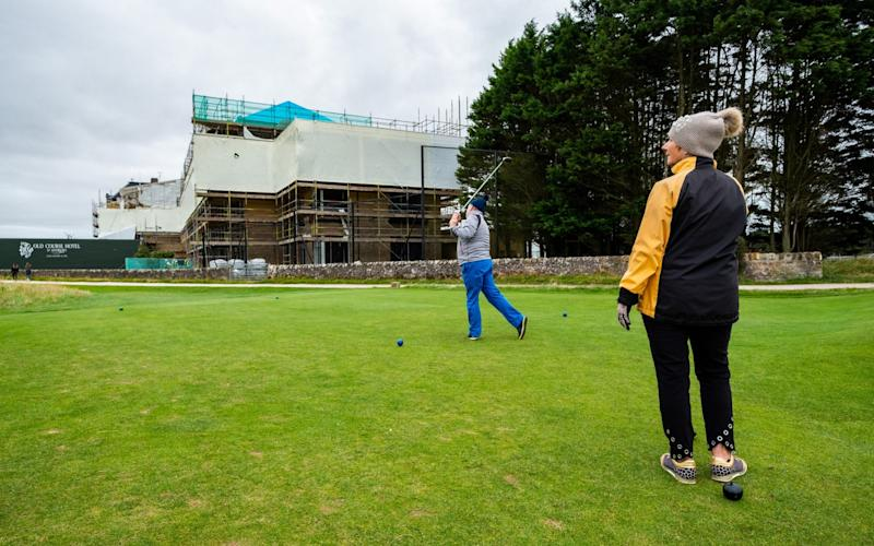 The building work means the notoriously difficult hole has become harder - Stuart Nicol/Stuart Nicol Photography
