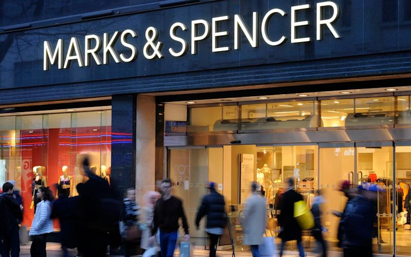 'Nowhere and no time do I miss my dad more acutely than in the men's department of M&S at Christmas' - PA