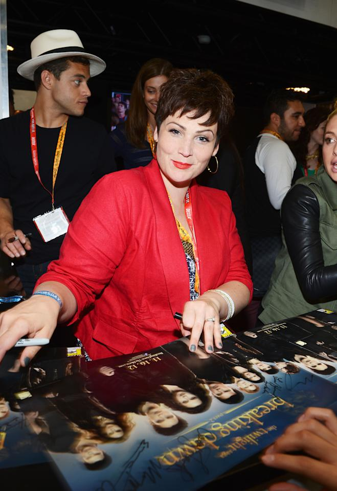 """SAN DIEGO, CA - JULY 12: Actress Lisa Howard  attends """"The Twilight Saga: Breaking Dawn Part 2"""" during Comic-Con International 2012 at San Diego Convention Center on July 12, 2012 in San Diego, California.  (Photo by Michael Buckner/Getty Images for Lionsgate)"""
